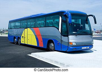 excursão, autocarro