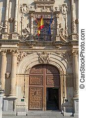 Alcala de Henares University front door - Alcala de Henares...