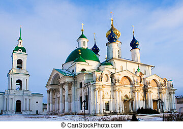 Christian church in Rostov, Russia - Spaso-Jakovlevskij...
