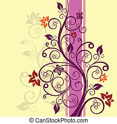 Floral design vector illustration