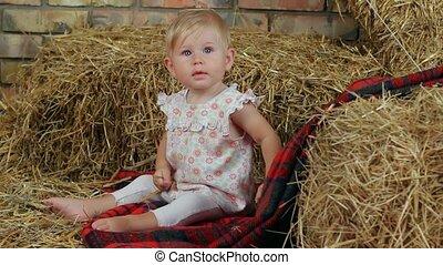 Girl On The Farm