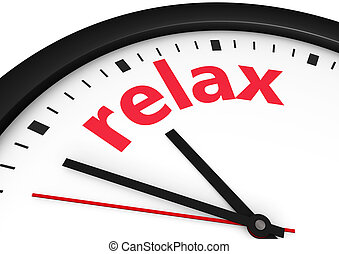 Time For Relax Concept