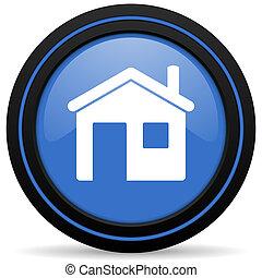 家, 簽署, 圖象, 房子