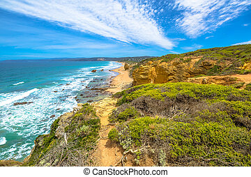 Eagle Point Great Ocean Road - Top view from Eagle Point...