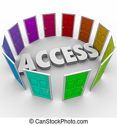 Access Open Doors Admission Exclusive Available Entry -...