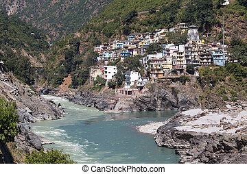 Devprayag is the last prayag of Alaknanda River and from...