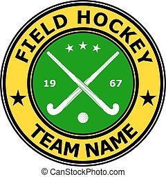 d1504-22p1n1.eps - Color badge emblem design field hockey....