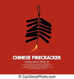 Chinese Firecracker - Chinese Firecracker Vector...