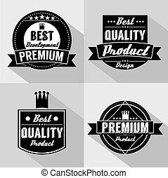 Premium Quality Labels.