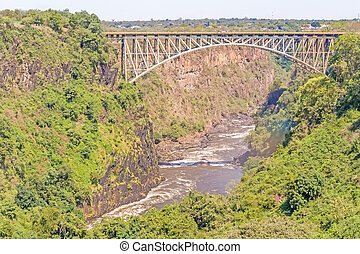 Bridge over the Zambezi River, Victoria Falls