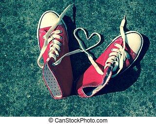 baseball boots sneakers love heart - baseball boots sneakers...
