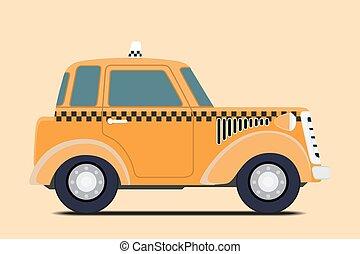 Vintage Taxi.