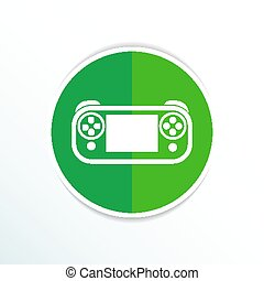 illustration of game controls Video games Silhouettes,...
