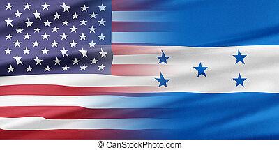 honduras, estados unidos de américa