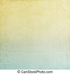 A paper texture - A paper background - yellow and blue...