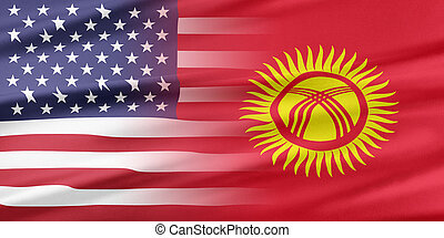 USA and Kyrgyzstan. - Relations between two countries. USA...
