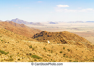 Spreetshoogte Pass landscape in Namibia - Spreetshoogte Pass...