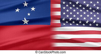 Stati Uniti, e, Samoa.,
