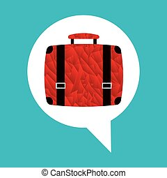 travel icon design, vector illustration eps10 graphic