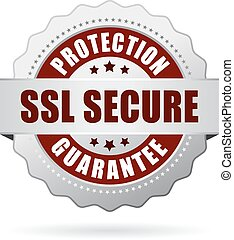 Ssl secure protection guarantee icon