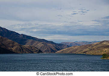 Brownlee Dam Nestled in the Heart of Hells Canyon
