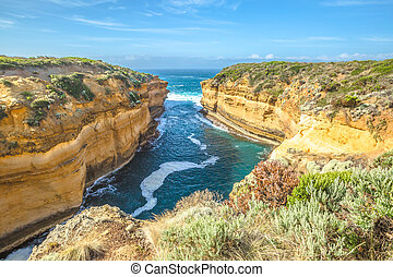 Port Campbell National Park - Lookout Loch Ard Gorge in Port...