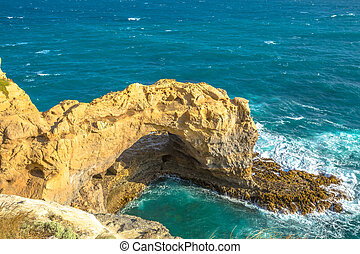 Port Campbell National Park - The Arch is located on Great...