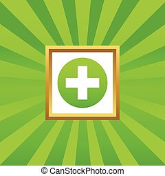 Medical sign picture icon 1