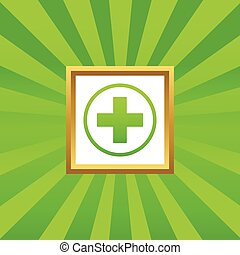 Medical sign picture icon 2
