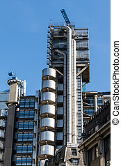 View of the Lloyds of London Building