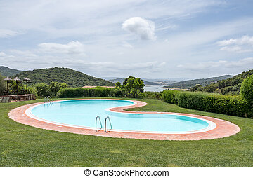 Swimming pool Hotel Aldiola Country Resort in Sardinia