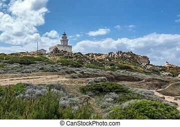 The Lighthouse at Capo Testa Sardinia