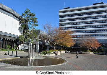 Hamilton cityscape - New Zealand - HAMILTON, NZL - MAY 22...