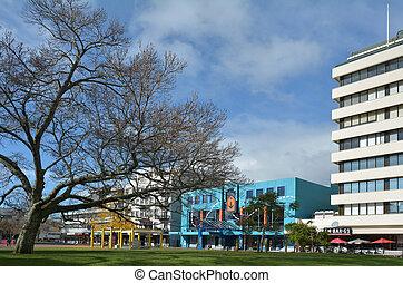 Hamilton Hamilton Garden place New Zealand - HAMILTON, NZL -...
