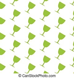 Glass Drink pattern background