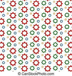 Gear pattern background