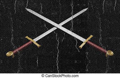 pretas, espadas,