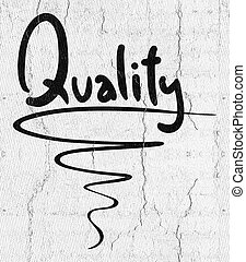 Quality emblem - Creative design of Quality emblem