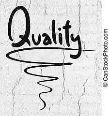 品質, 紋章,