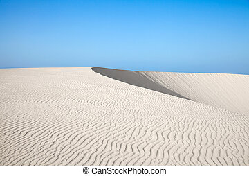 Fuerteventura, Canary Islands, Dunes of Corralejo - Northern...