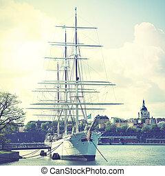 Skepp,  Stockholm