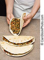 mexicano, quesadillas, ,