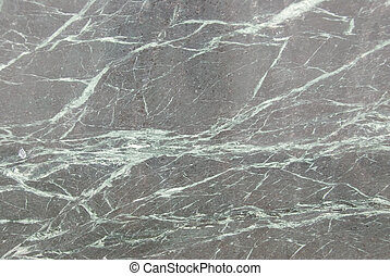 Polished granite - A polished slab of granite