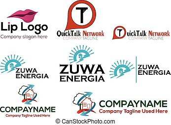 Business logo set - EPS format available