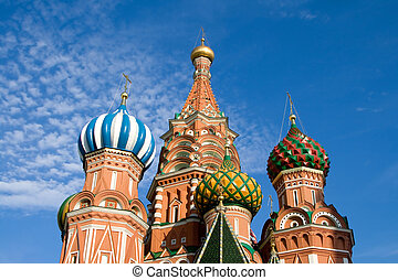 basilico,  Russia,  ST, cattedrale, mosca