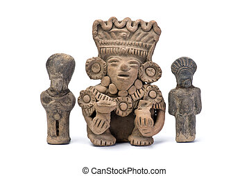 Pre Columbian Warriors - Pre Columbian warriors made around...