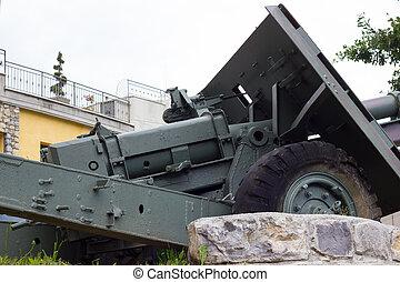 canhão, artilharia,