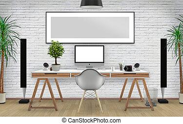 Desktop Mock up - Desktop mock up just ad your creative on...