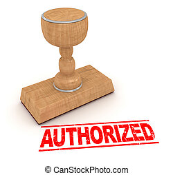 Rubber stamp - authorized , This is a computer generated and...