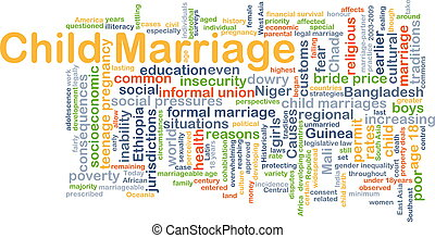 Child marriage background concept - Background concept...